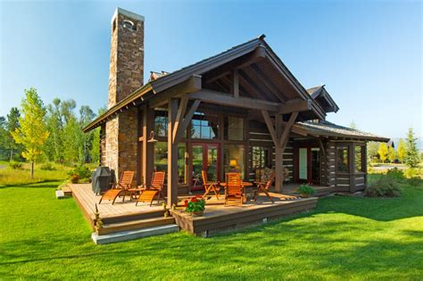 cabins for rent in wyoming luxury cabin at jackson golf and tennis jackson