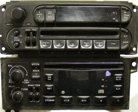 guide  chrysler dodge jeep plymouth stereo head