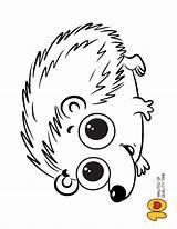 Hedgehog Coloring Colors Bee Sheets Animal Owl sketch template