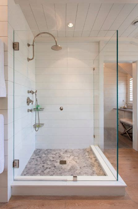 Shiplap in the shower   Pretty Bathrooms   Pinterest