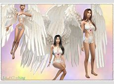 Mythical Dreams Sims 4 Angelica Sweet Lace Clothes