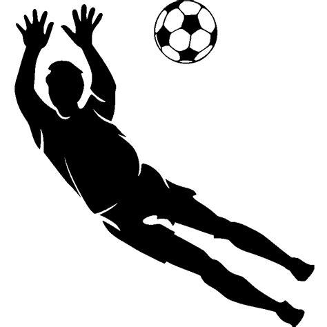 cuisine italienne design stickers sport et football sticker silhouette gardien de