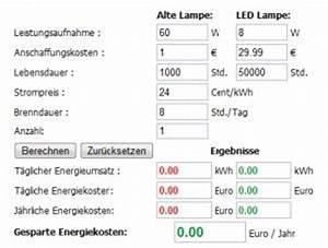 Watt Berechnen Formel : led rechner watt dynamische amortisationsrechnung formel ~ Themetempest.com Abrechnung