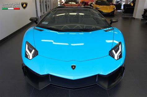 Smurf Blue Aventador Roadster 50th Anniversary for Sale in ...