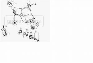 Modern Vespa   Newbie Needs Ignition Switch Installation Help