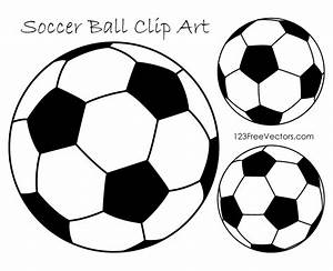Soccer Ball Clipart Black and White | 123Freevectors