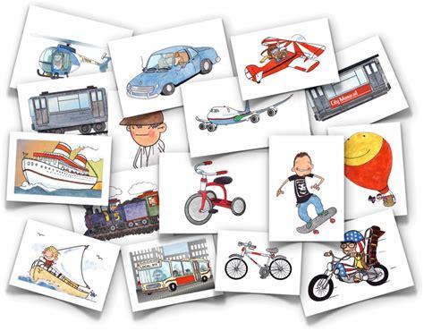 vehicles flash cards flashcards psicopedagogia atividades