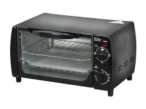 Elite Cuisine 4 Slice Toaster Oven - maxi matic eka 9210b black elite cuisine 4 slice toaster