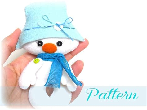 Snowman-christmas Ornaments Patterns-snowman Christmas Pdf
