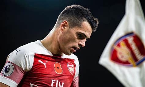 Arsenal midfielder Granit Xhaka reveals plan to make move ...