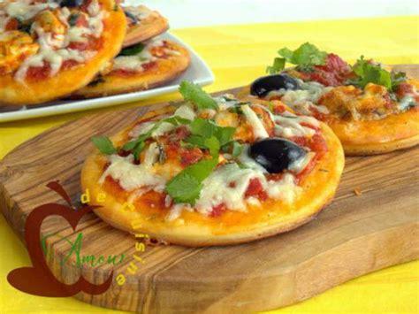 recettes d amuse bouche et pizza