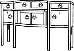Sideboards Definition by Sideboard Definition Of Sideboard By Merriam Webster