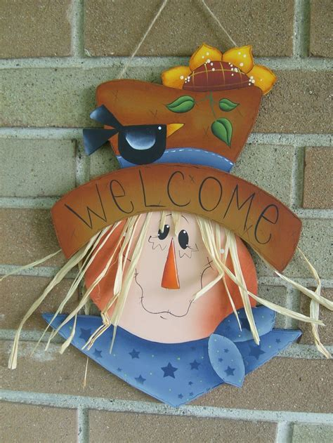 273 Best Images About Scarecrows On Pinterest Welcome