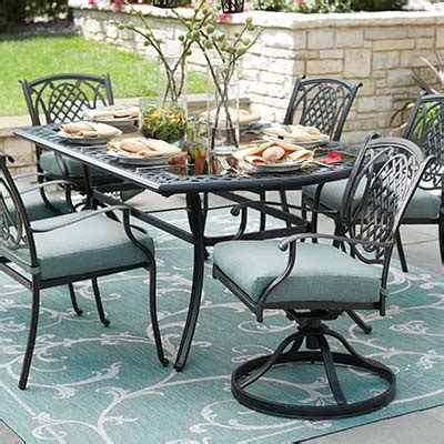 Metal Outdoor Patio Furniture by Metal Patio Furniture Sets Pieces The Home Depot