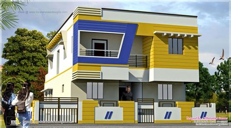 Gallery of cool house front design indian style brick wall designs on