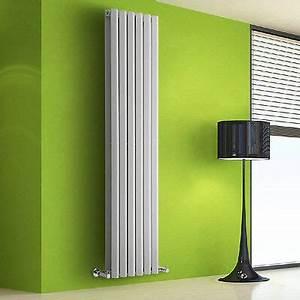 Chauffage Design : radiateur chauffage central design vertical acier blanc 178 x 42cm 1881w eur 356 00 picclick fr ~ Melissatoandfro.com Idées de Décoration