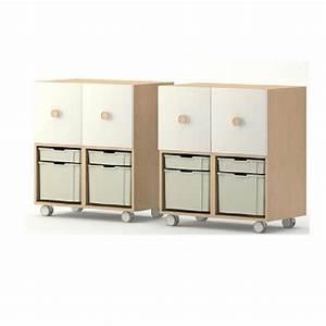 Meuble Casier Rangement : meuble de rangement 4 casiers meubles rangement ~ Teatrodelosmanantiales.com Idées de Décoration