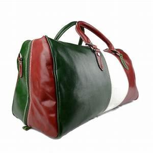 Leder Reisetasche Damen : leder reisetasche sporttasche italienische flagge ~ Watch28wear.com Haus und Dekorationen