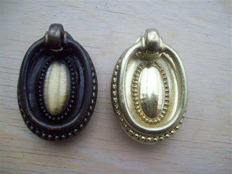 oval cupboard drawer drop ring pull handle ironmongery world