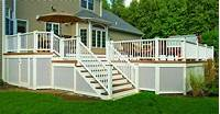 lattice under deck Railings | Archadeck custom decks, patios, sunrooms, and ...