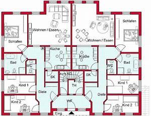 Bauen Zweifamilienhaus Grundriss : bildergebnis f r bungalow mit einliegerwohnung grundriss ~ Lizthompson.info Haus und Dekorationen