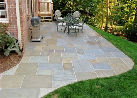 flagstone backyard flagstone pavers best flagstone patio walsall home and garden design blog