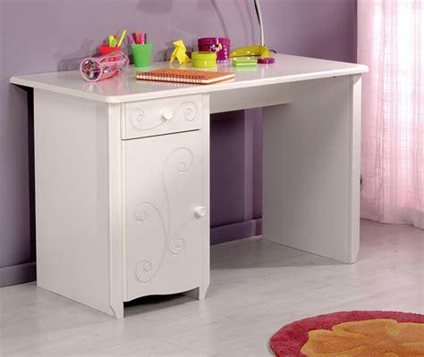 bureau blanc bois chambre bois blanc