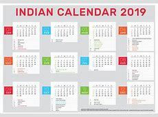 Indian Calendar 2019 Indian Link