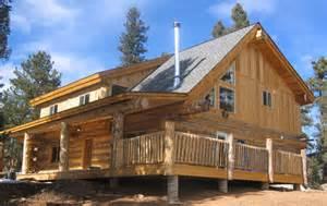 build a custom home colorado log cabin