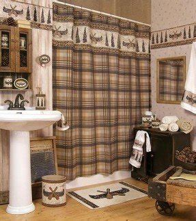 cabin themed decor lodge rustic shower curtain foter 1908