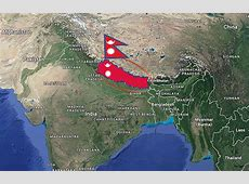 Where in Nepal Where is Nepal Located in The World Map