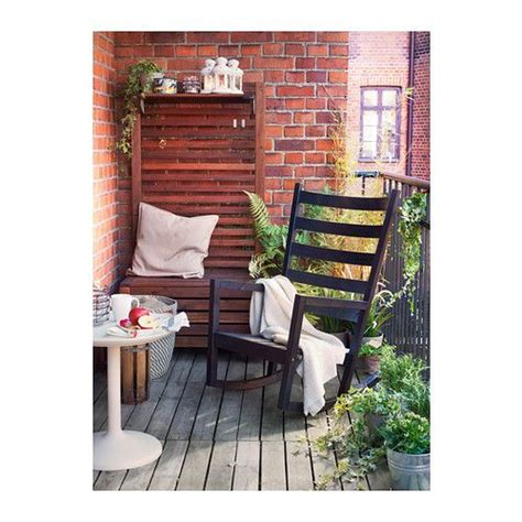 ikea rocking chairs and wooden furniture on