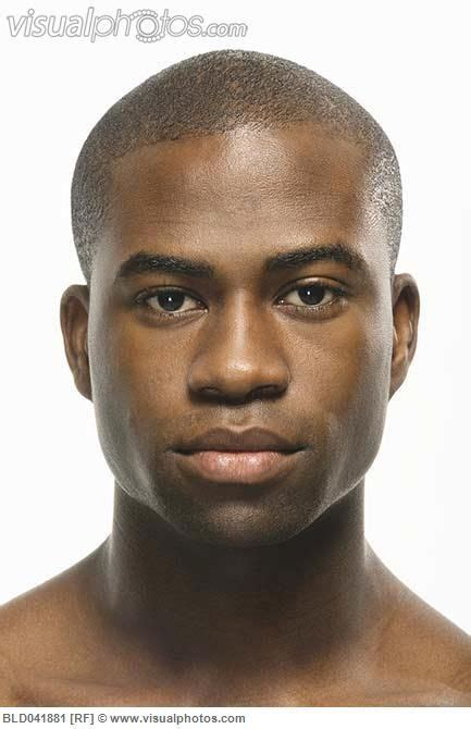close   african american mans face facerefblack