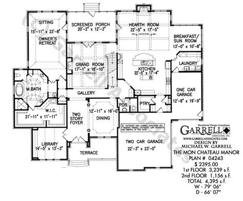 chateau floor plans mon chateau manor house plan estate size house plans