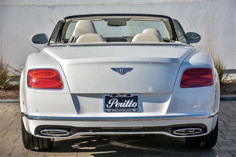 New 2018 Bentley Continental Gtc Mulliner Convertible In