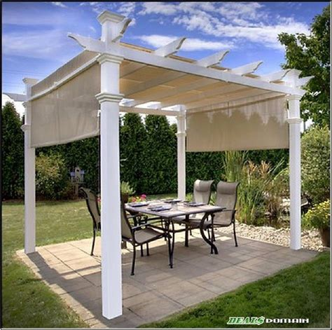 double tier replacement canopy cover   ft gazebo beige  pergola pergola