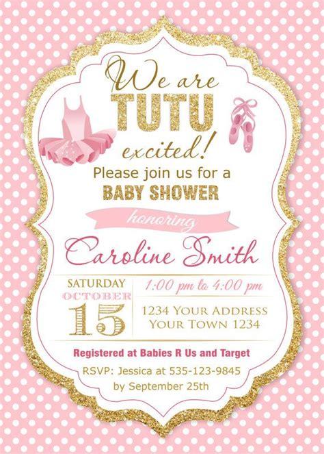 tutu baby shower invitations templates baby shower invitation templates tutu baby shower invitations easytygermke invitation