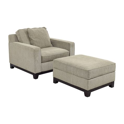 grey chair and ottoman 36 off macy 39 s macy 39 s clarke grey chair and ottoman chairs