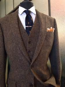 2017 Latest Coat Pant Designs Brown Tweed Formal Men Suit Classic Slim Fit Blazer Gentle Outfit Custom 3 Piece Jacket Terno LO3