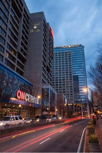 Atlanta Cnn Omni Ga Hotels Georgia