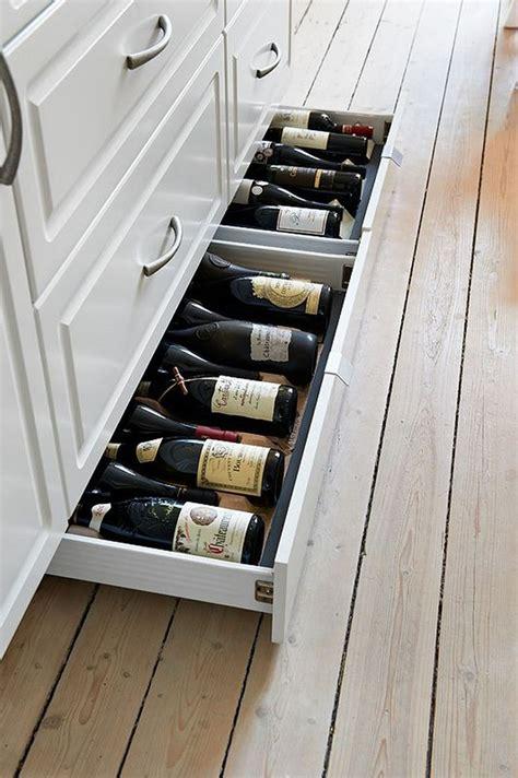 wine storage ideas   kitchen