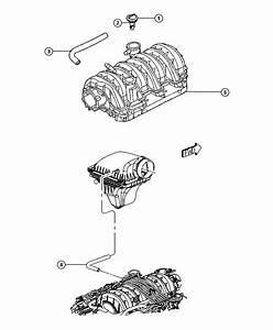 Chrysler 300 Hose  Pcv Valve To Intake Manifold