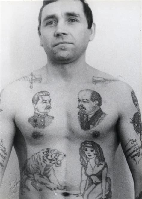 Signification Des Tatouages De Prisonniers Russes