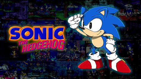 Sonic The Hedgehog Desktop Backgrounds Classic Sonic Wallpaper Wallpapersafari