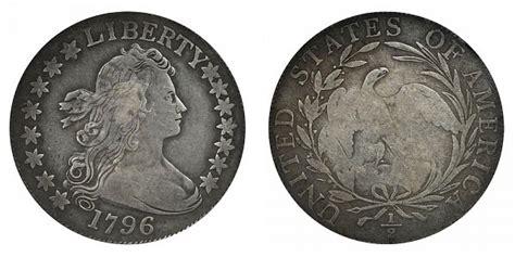 1796 Draped Bust Dollar - 1796 draped bust half dollar 15 small eagle