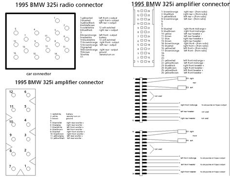 Z3 E36 Wiring Diagram by Z3 Cd Radio Wiring Diagram Zroadster Net