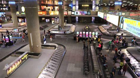 Baggage claim at McCarran airport in Las Vegas. (part2 ...