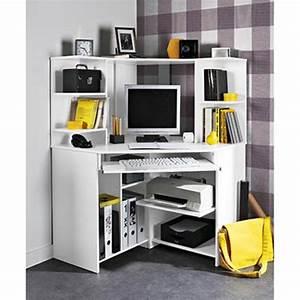 Petit Bureau Angle : bureau d angle enfant bureau fille blanc lepolyglotte ~ Teatrodelosmanantiales.com Idées de Décoration