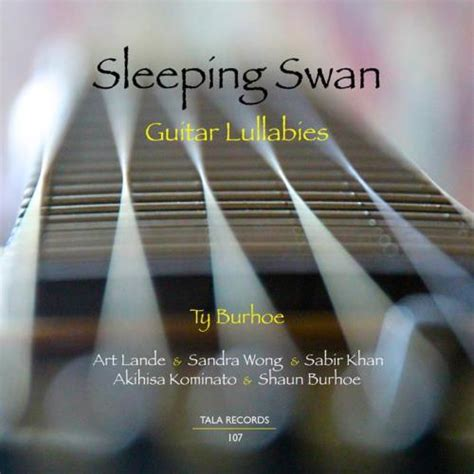 34066 bed time story ty burhoe sleeping swan guitar lullabies cd free shipping