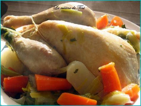 cuisine poule au pot poule au pot simplissime la cuisine facile de tini